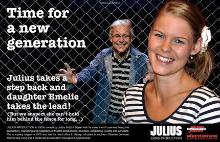 Ad for Julius Production - Julius Malmström